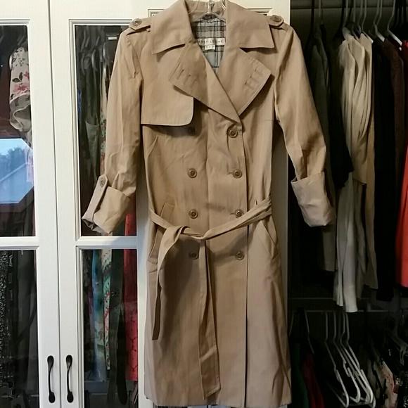 premium selection large assortment variousstyles Larry Levine Rain Trench Coat